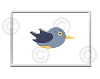 Printable Poster bird