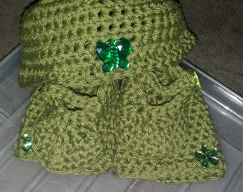 hat, mittens and booties set