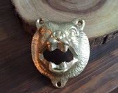 Bear head bottle opener