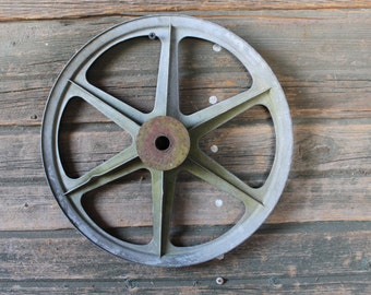"""Large 12"""" pulley wheel"""