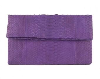 Python purple Small pouch