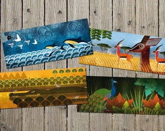 Narava postcards collection 2