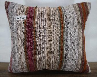 KILIM PILLOW 15x17 inches ,Turkish kilim pillow,decorative kilim pillow,kilim cushion cover,throw pillow,Made in Turkey Pillows SP4040-410