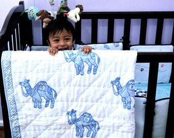 Designer Baby Quilts [Camel]