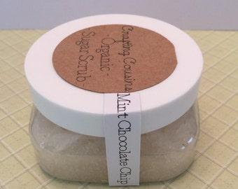 Organic Sugar Scrub - Mint Chocolate Chip