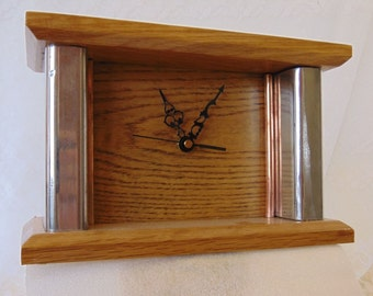 Upcycled Mantel Clock