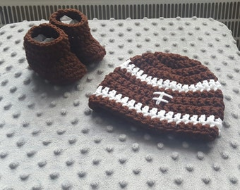 READY TO SHIP*** newborn football set