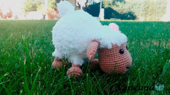 Amigurumi Sheep Doll : Teddy Sheep Amigurumi. Crochet doll. Stuffed.