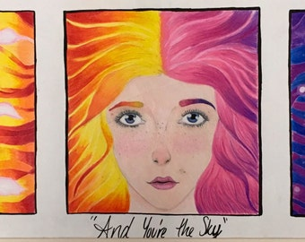And You're The Sky [Print]