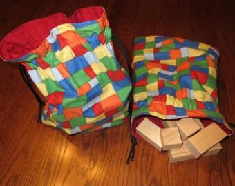 Infant Child Play Blocks, No Dyes, Natural, Safe