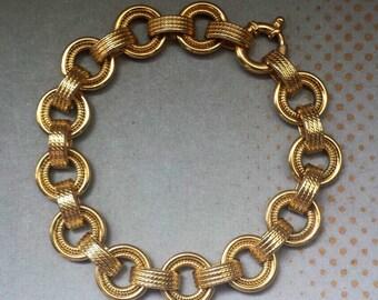 14K Yellow Gold Italian Bracelet