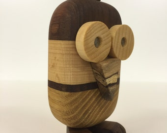 Magnetic-OWL Funny Wood owl