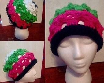 Colorful Skull Hat