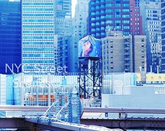 NYC Water Tower Love© - NYC Image - NYC Street Scenes