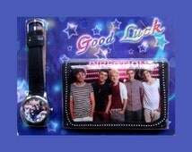 One Direction Wallet and Watch,1D Purse,Watch,Jewellery,Harry,Liam,Zayne,Niall,Louis,Easter Gift