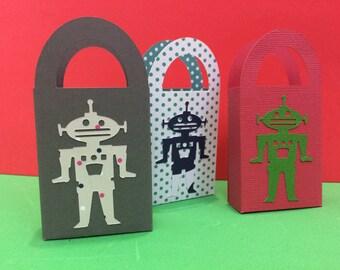 robot gift bag