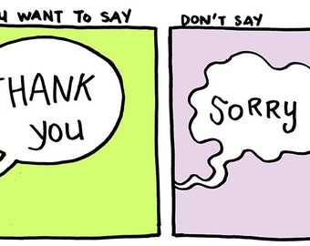 Baopu #15: If You Want to Say Thank You, Don't Say Sorry - Small