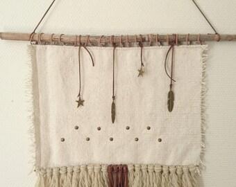 Handmade wallhanging Carmela
