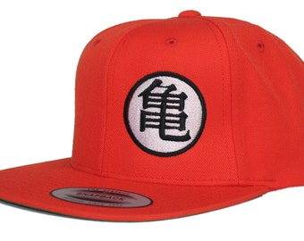 Goku Dragonball Z Hat Flat Bill Snapback Cap Adjustable