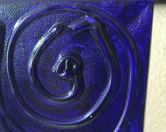 Art Block in Eggplant