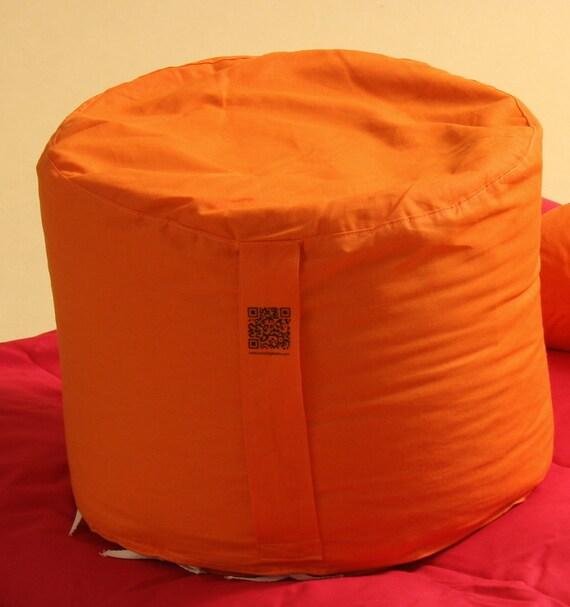 Round Meditation Cushion Zafu With Organic Spelt
