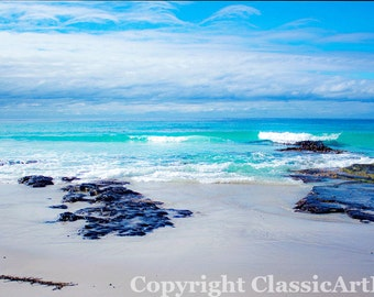 Digital Download Beach Photography Coastal Art Seascape Landscape Photography Digital Wall Art Fine Art Photography Ocean Photography