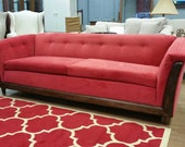 Just refurbished Mid Century Modern sofa