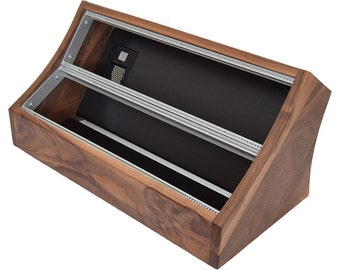 Modular Eurorack Case - Walnut, 6U/104HP