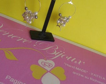 Earrings with charms