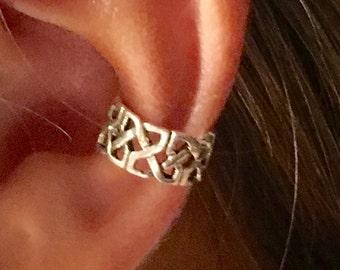 Sterling Silver Filigree Ear Cuff/Wrap