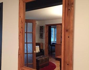 Mirror wood barn
