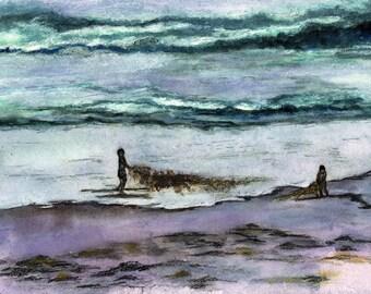 Sea Weed Tug of war