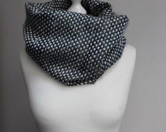 Loop scarf silver