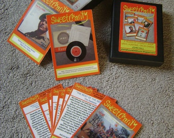 SWEET CHARITY. 2 years of charity shop record buying in a limited edition boxed set of 25 cards by artist John Hall.