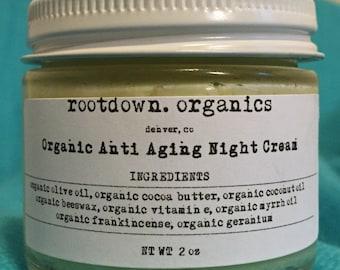 Organic Anti Aging Night Cream