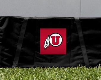 Utah Utes Cornhole Carrying Case