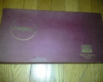 1976 scrabble board game