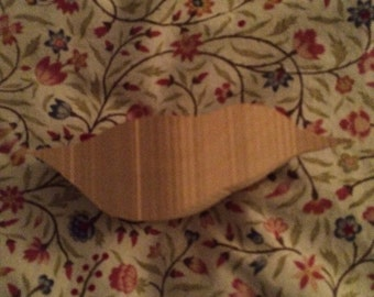 Basswood Nuthatch wood carving blank roughout