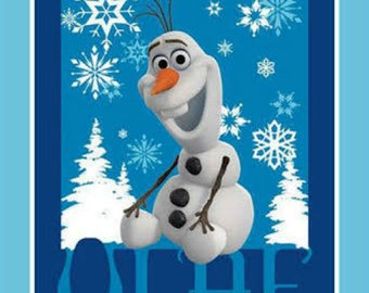 Springs Creative Frozen Olaf full yard panel