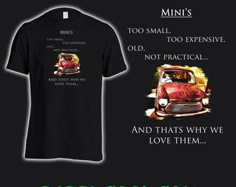 Mini Cooper Tee shirt.