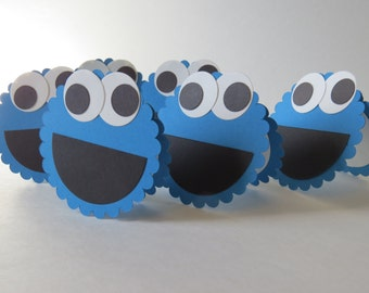 """Greeting or Invitation Card """"Cookie Monster!"""""""