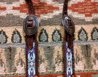 Beaded bridle