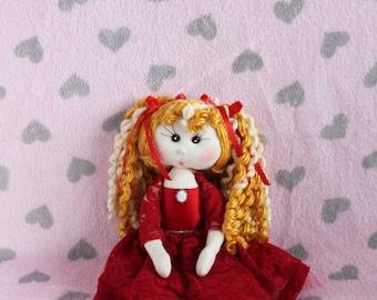Lovely Fabric Doll - Adriana