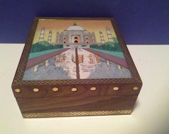 India wooden box