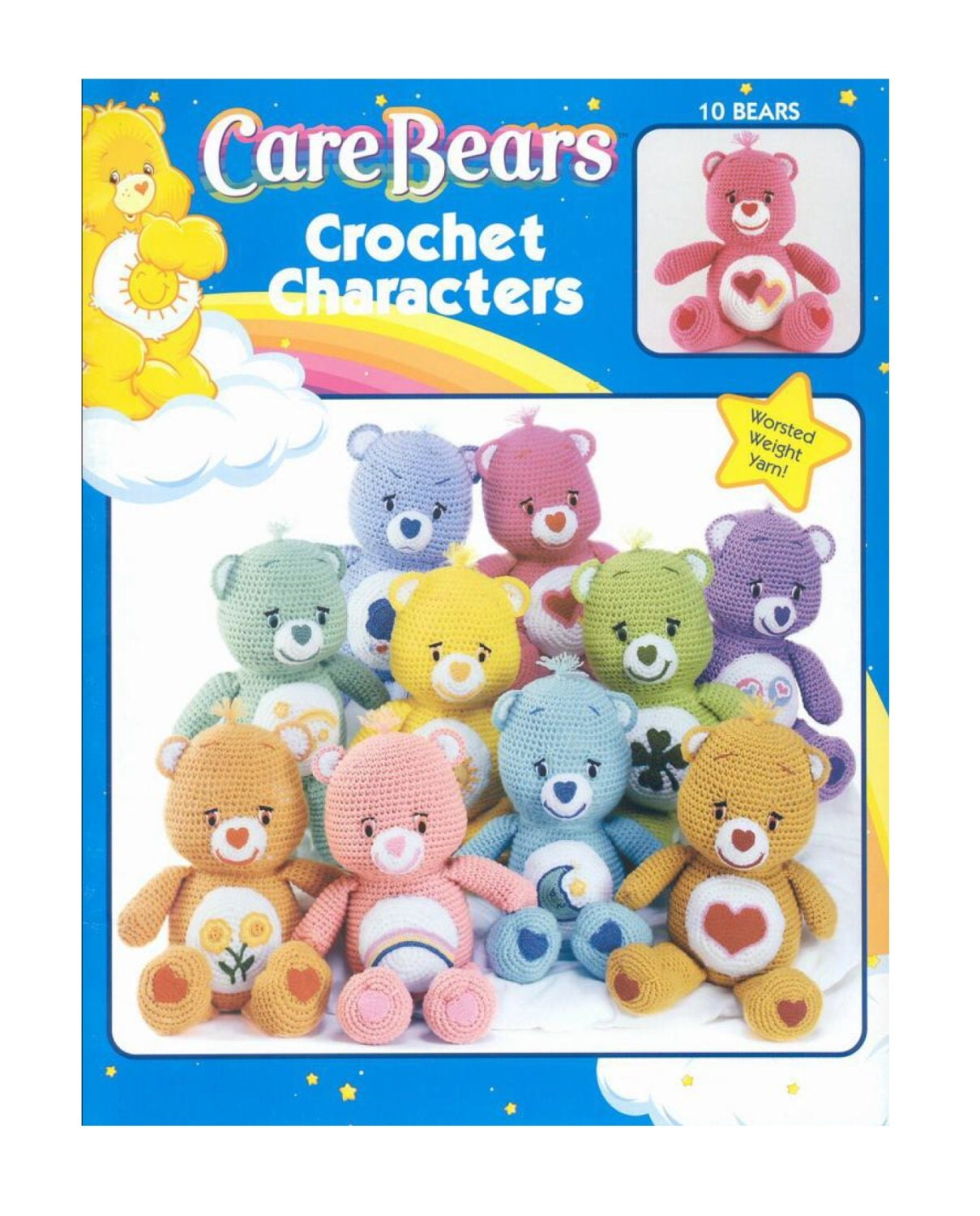 Care bear crochet pattern book soft toy amigurumi soft toy zoom bankloansurffo Choice Image