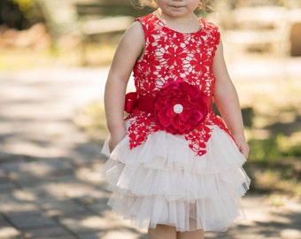 Baby christmas dress | Etsy