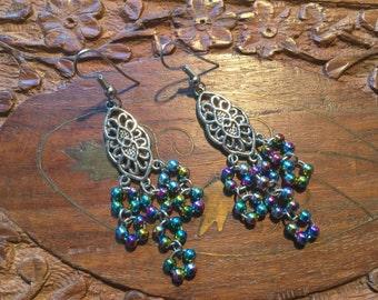 Earrings - Rainbow #12477