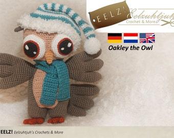 Oakley the Owl - Crochet Pattern