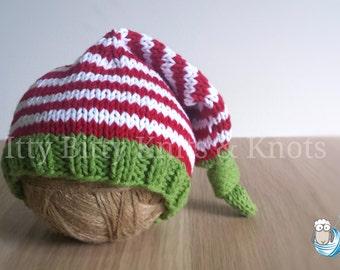 Sleep Cap (Red, White & Green)