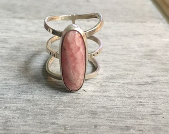 Rose Quartz Finger Cage
